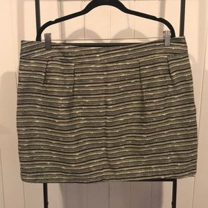 Mossimo tweed lined skirt -Size 18